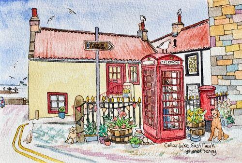 Print 'Cellardyke Phonebox'... £22