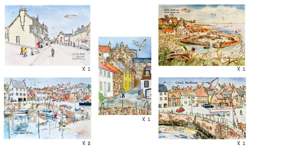 Crail Card pack image montage