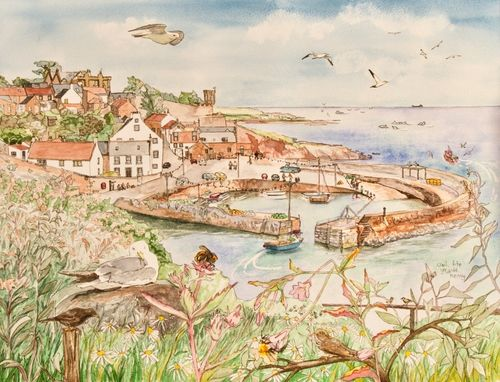 Crail Harbour ... £45