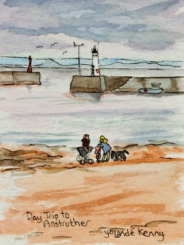 Print 'Day Trip to Anstruther'... £22