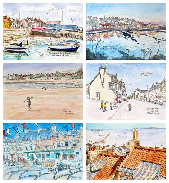 East Neuk Villages cards