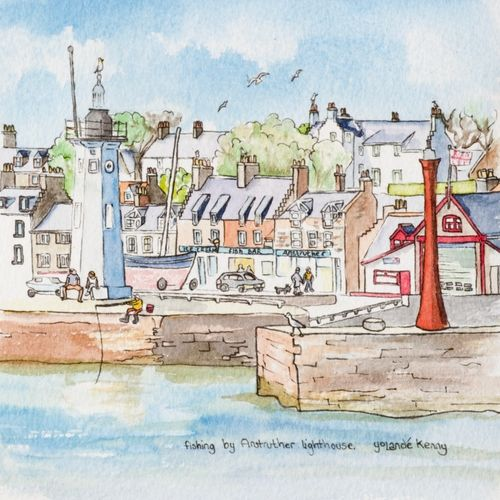 Fishing by Anstruther Lighthouse ... £19