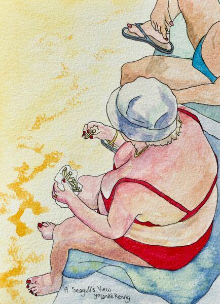 Print 'A Seagull's View'... £25