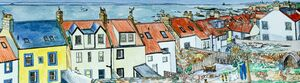 Print 'View over Midshore Rooftops in Pittenweem' (panoramic)... £42