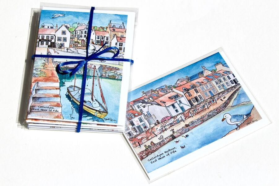 Pack of 6 Cellardyke Greeting Cards... £12
