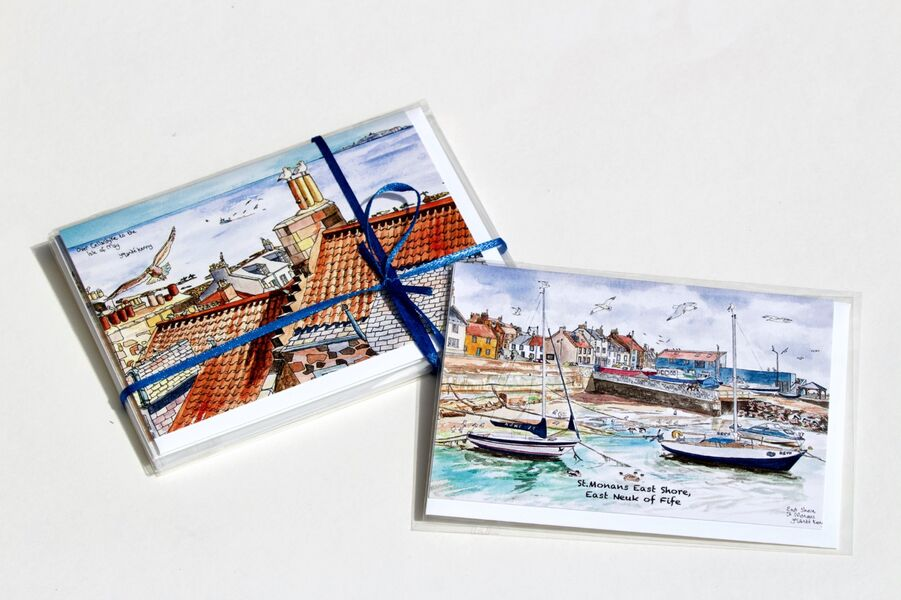 Pack of 6 East Neuk Greeting Cards... £12