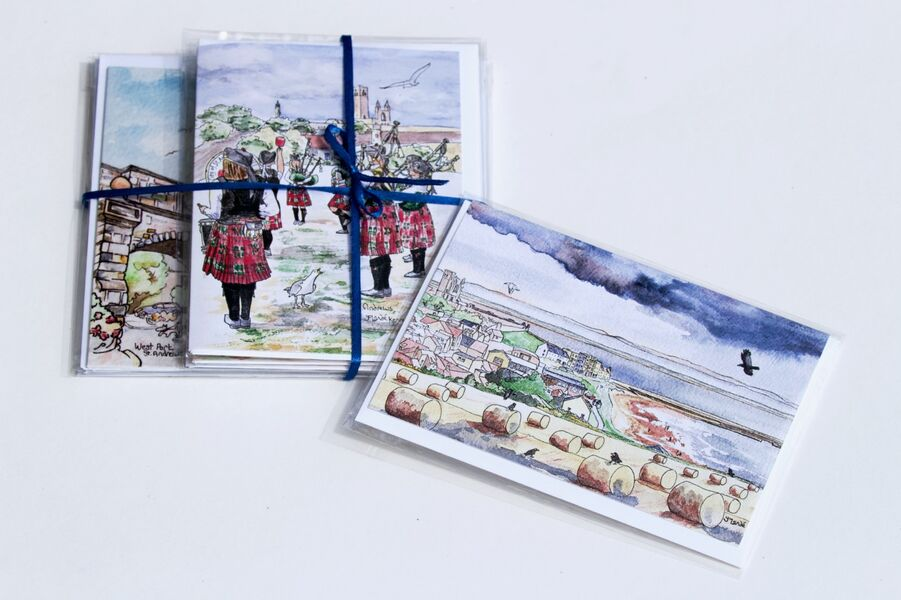 Pack of 6 St.Andrews Greeting Cards... £12