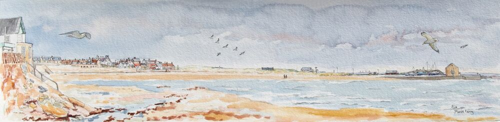 Original Watercolour 'Elie'