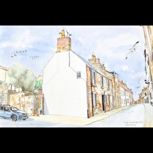 Corner of George Street and Urquart Wynd, Cellardyke