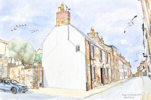 Commission Corner of George Street and Urquart Wynd, Cellardyke