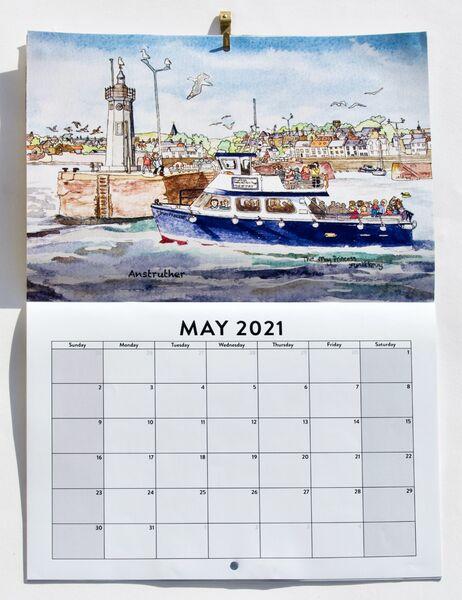 2021 East Neuk Villages Calendar ...£12