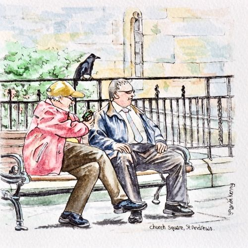 Old Guys at St.Andrews Church Square .... £19