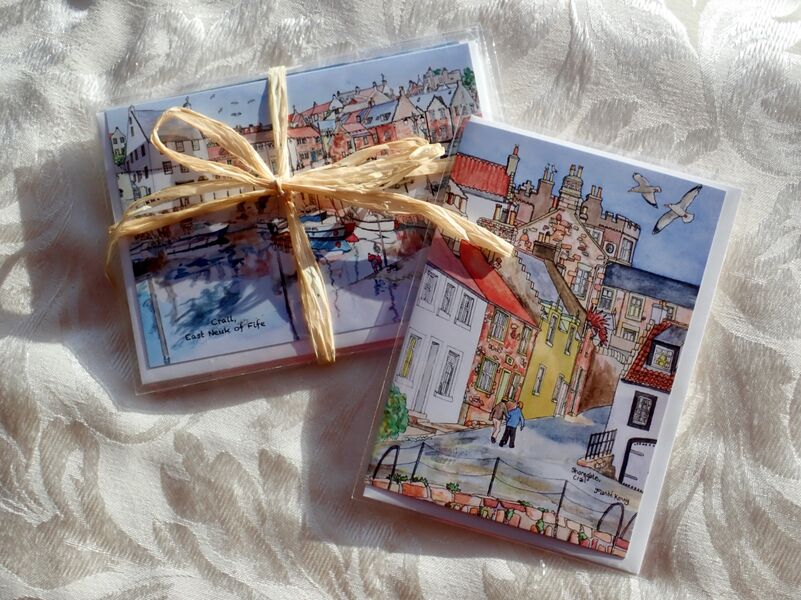 Pack of 6 Crail Greeting Cards.. £12