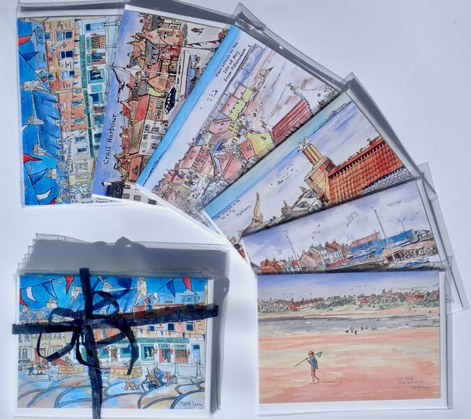 Pack of 6 East Neuk Villages Greeting Cards (Set 1)... £12