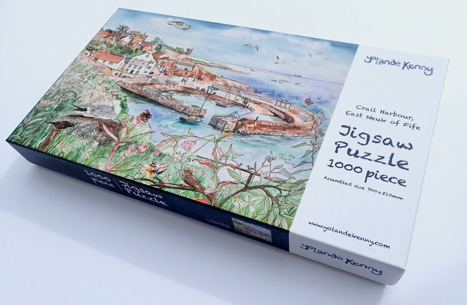 Crail Harbour Jigsaw.. sold out