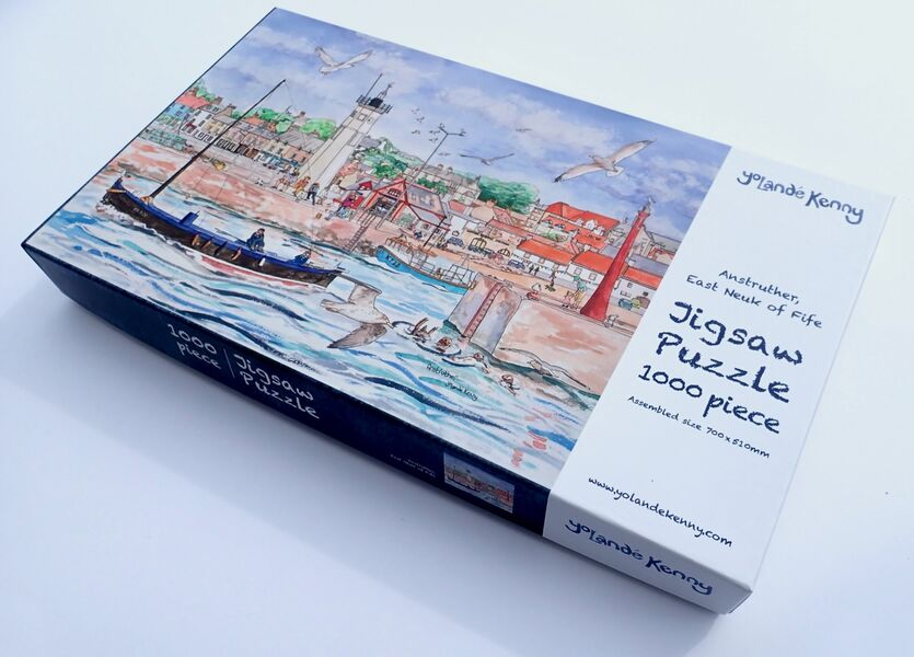Anstruther Harbour Jigsaw.. £29