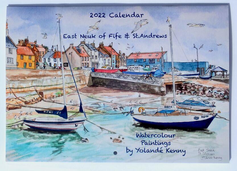 2022 East neuk of Fife & St.Andrews Calendar. 1 front