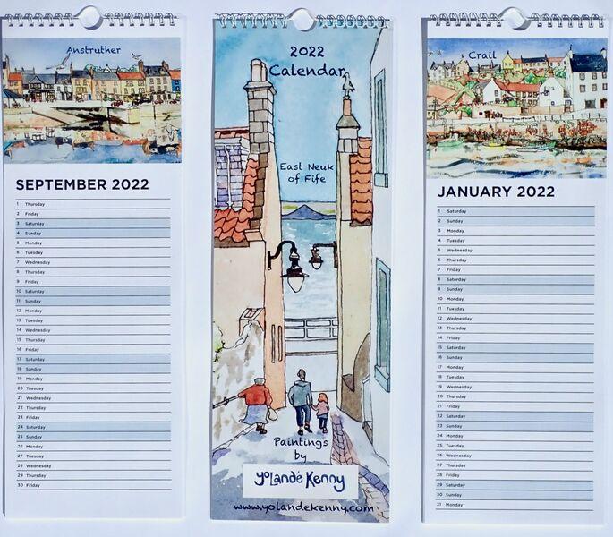 2022 East Neuk of Fife Appointment Calendar.. £11.50