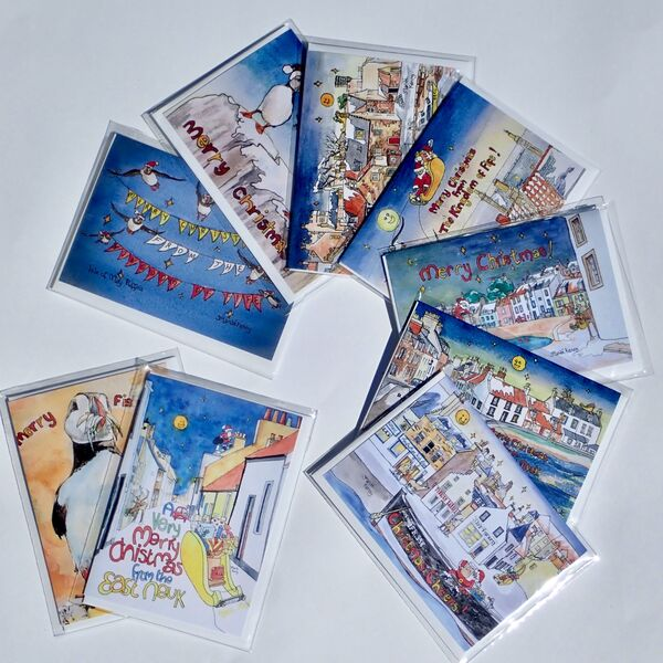 Christmas card offer for October! 9 Cards for £14