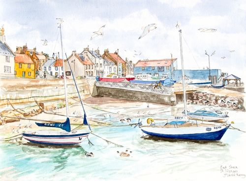 St.Monans East Shore ... £35