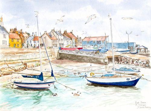 Print 'St.Monans East Shore'... £35