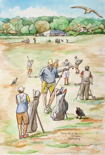 Print 'Teeing off at The Old Course, St.Andrews'... £22