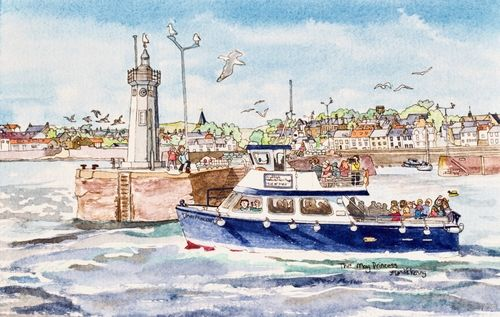 May Princess leaving Anstruther Harbour ... £25