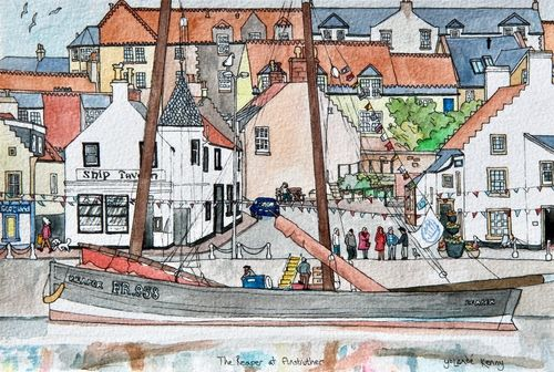 Print 'The Reaper at Anstruther'... £25