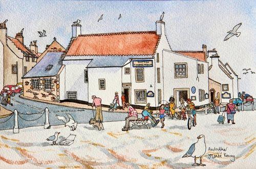 Print 'Scottish Fisheries Museum'... £25