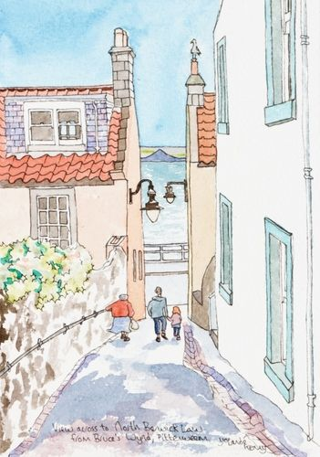 View Down Bruce's Wynd ... £22