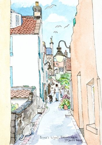 View up Bruce's Wynd ... £22