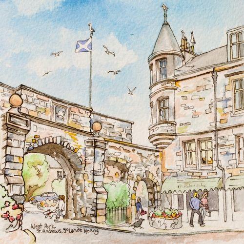Print 'West Port, St.Andrews'... £19