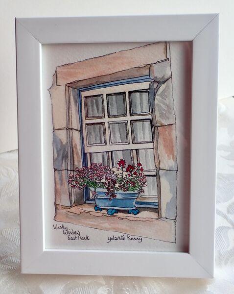 Framed Original Wonky Window £35