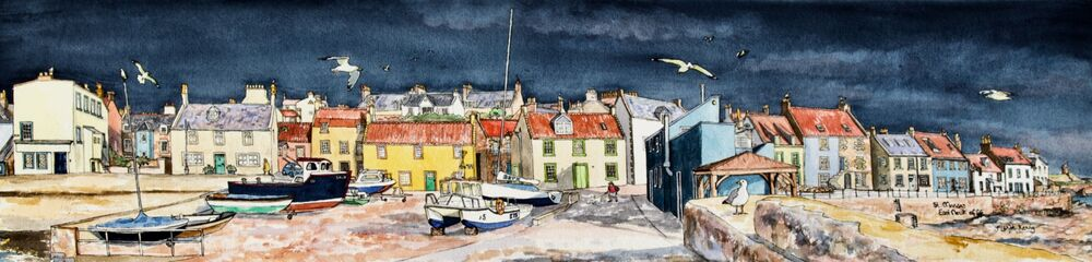 Print 'St.Monans before the Storm'... £69