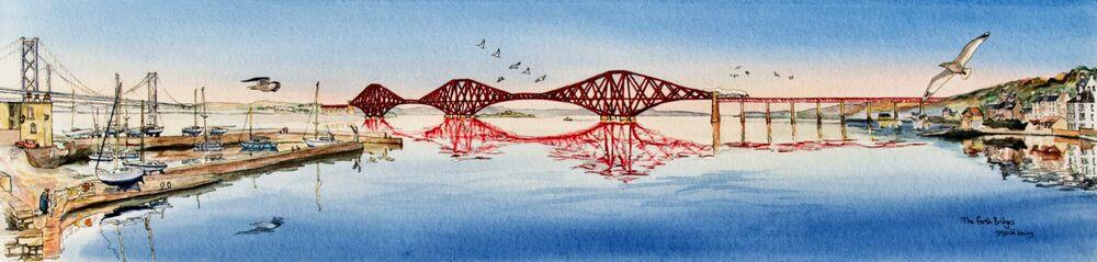 Print 'The Forth Bridges'... £125