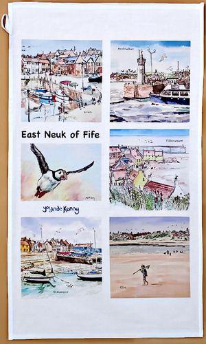 East Neuk Scenes Tea Towel... £12
