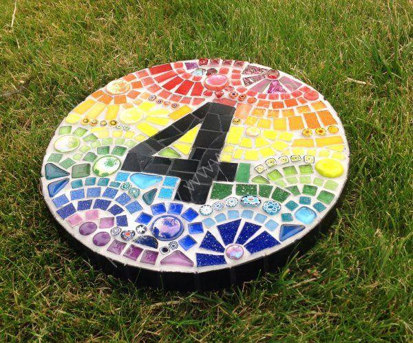 Rainbow House number