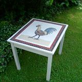 Cockerel table in Roman style