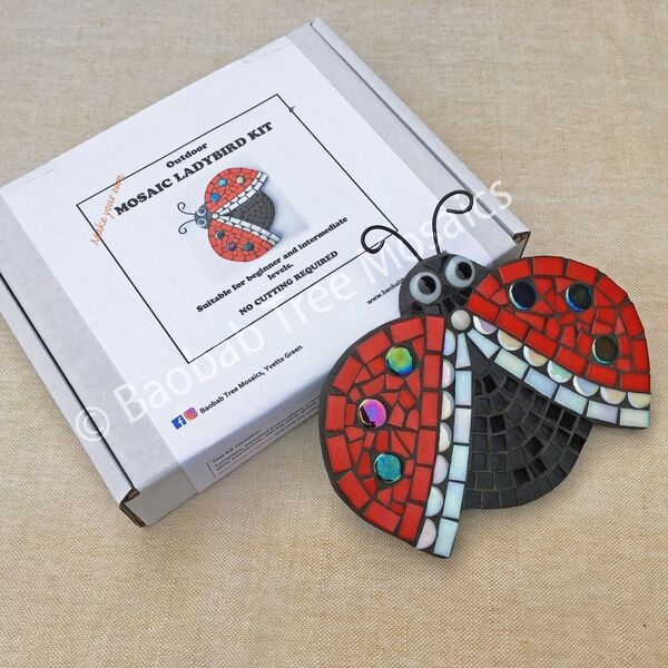 ladybird mosaic kit