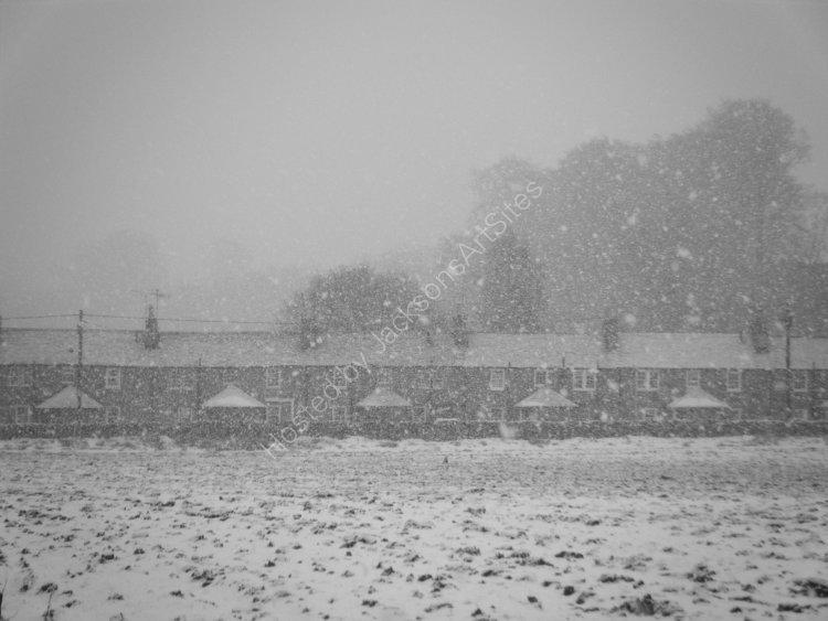 Snowstorm, Grey Row.