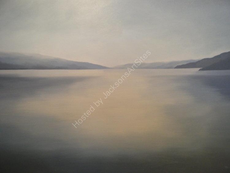 Adhar gorm, Loch Tatha. Oil on canvas. 122cm x 91.5cm. SOLD
