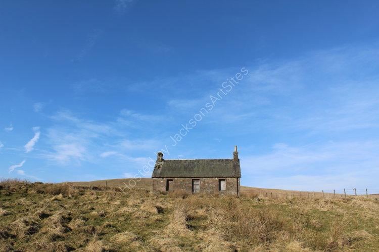 Blue sky, Loch Meallbrodden.