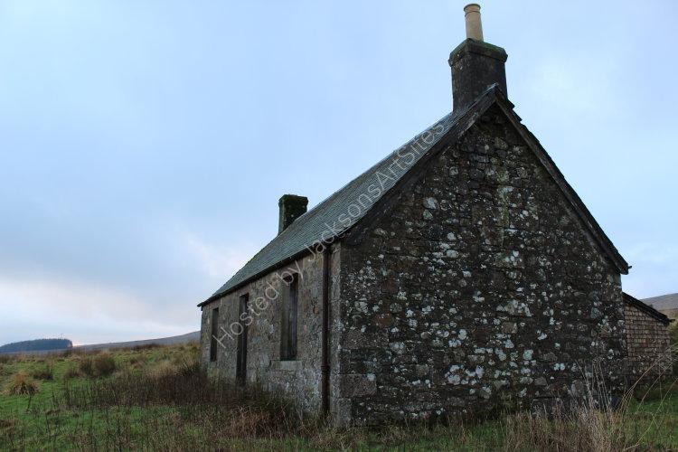 Cottage, Loch Meallbrodden.