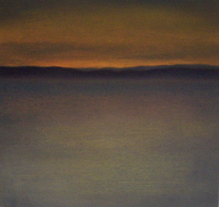 Day's end, The East neuk.  Pastel.  23.5cm x 23.5cm.  SOLD.