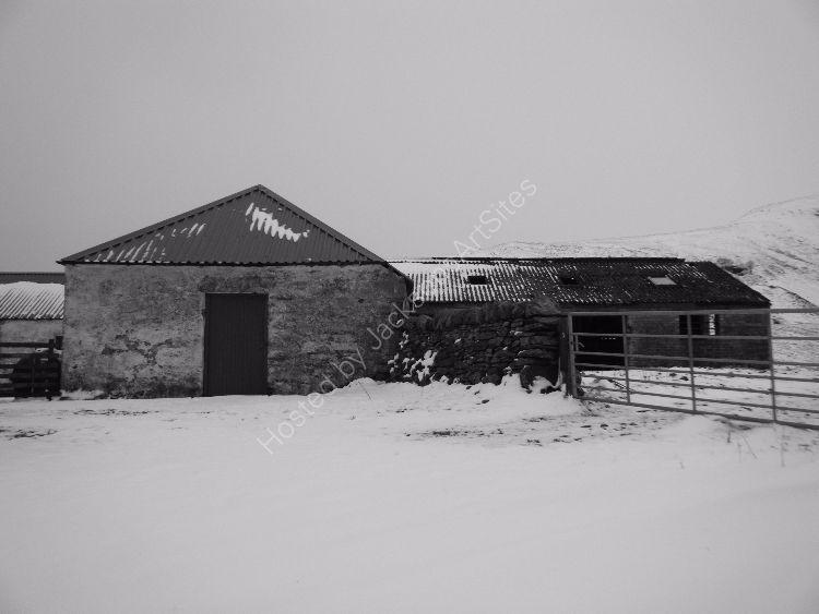 Farm steading, Little Glenshee.
