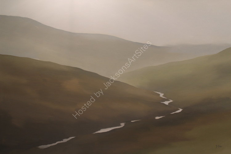 Glen Quaich. Oil on canvas. 122cm x 91.5cm. SOLD
