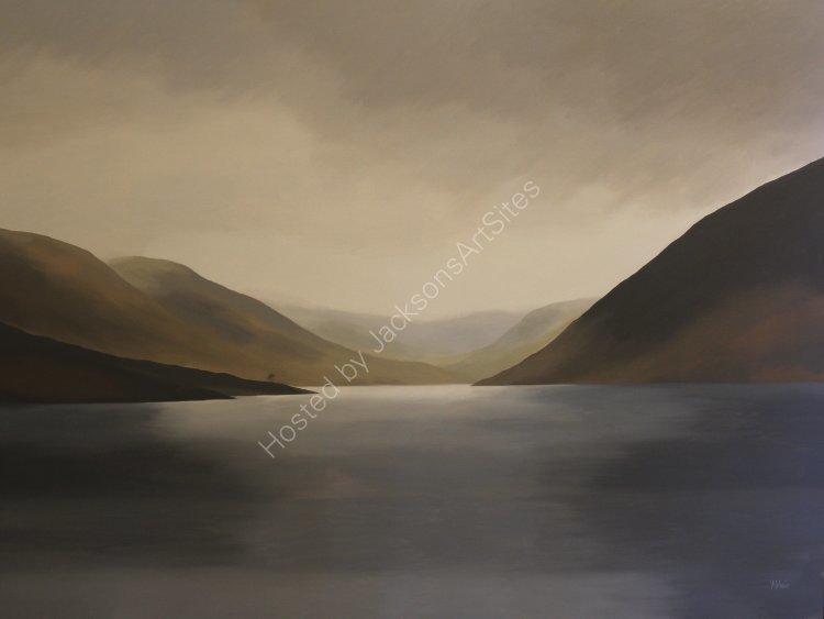 Glen Turret. Oil on canvas. 122cm x 91.5cm. SOLD