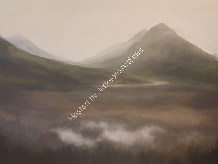 Glencoe. Oil on canvas. 122cm x 91.5cm.