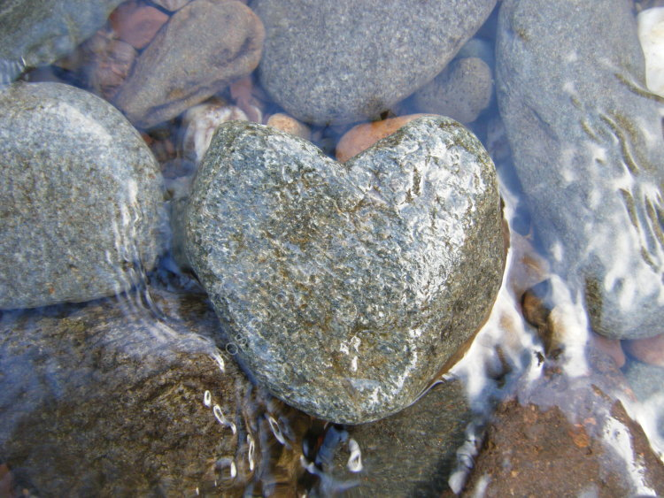 Heart stone, The River Almond