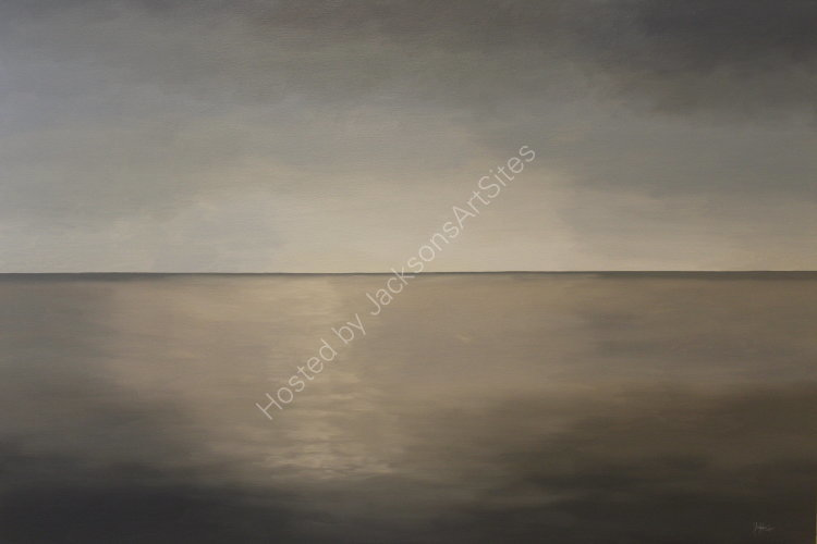 Horizon.  Oil on canvas.  122cm x 91.5cm.